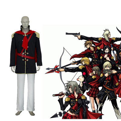 Final Fantasy XIII 13 Agito Boy Uniform Cosplay Outfits
