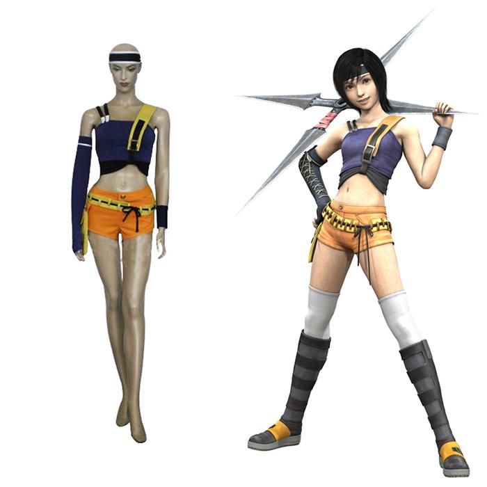 Luxury Final Fantasy VII 7 Yuffie Kisaragi Cosplay Costumes Wellington