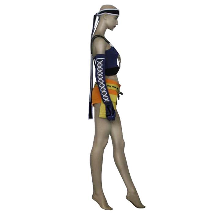 Déguisements Final Fantasy VII 7 Yuffie Kisaragi Costume Carnaval Cosplay