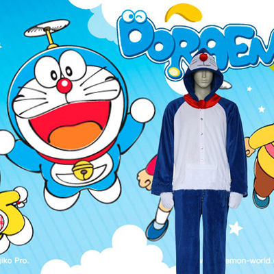 Doraemon Episode Cosplay Costumi Kigurumi Carnevale