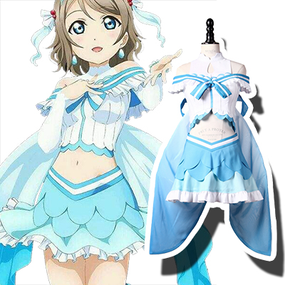 LoveLive! Sunshine!! You Watanabe Cosplay Kostuum Carnaval