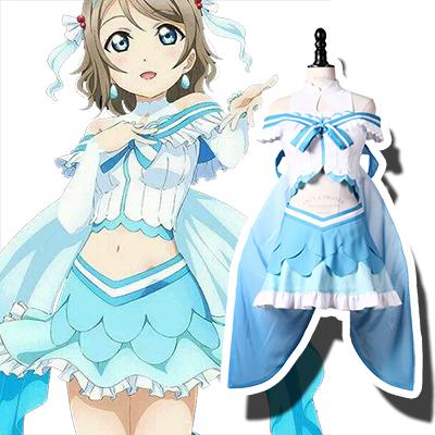 LoveLive! Sunshine!! You Watanabe Cosplay Kostume Fastelavn