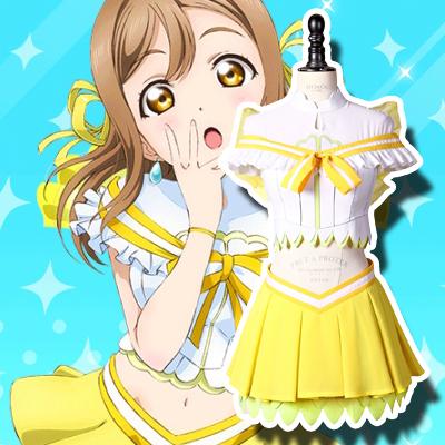 LoveLive! Sunshine!! Hanamaru Kunikida Cosplay asut Naamiaisasut