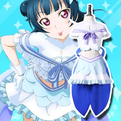 LoveLive! Sunshine!! Yoshiko Tsushima Cosplay Kostume Fastelavn