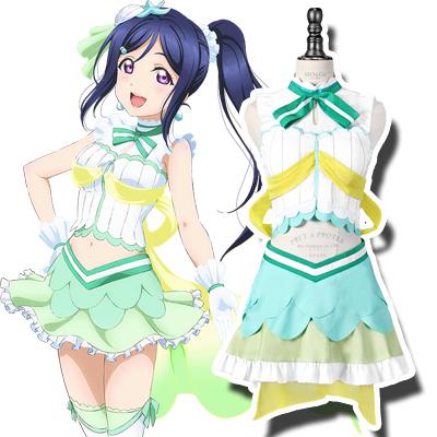 LoveLive! Sunshine!! Kanan Matsuura Cosplay Kostym Karneval