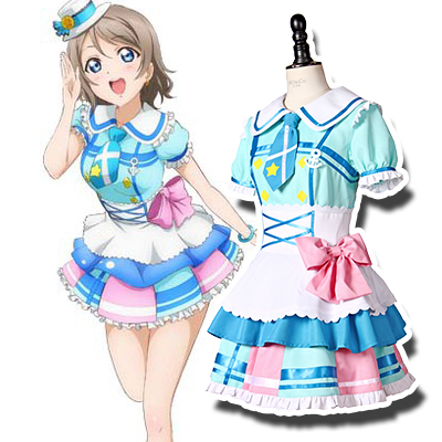 Anime LoveLive! Sunshine!! You Watanabe Cosplay Disfraces Carnaval