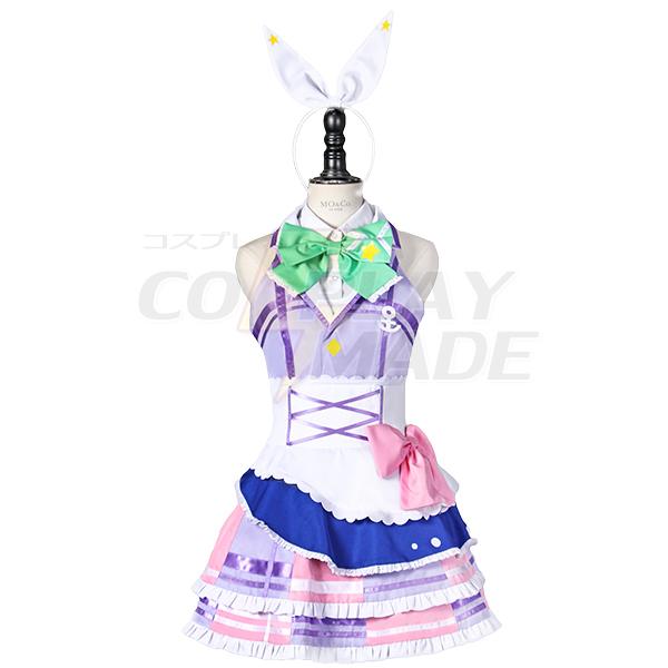 Anime LoveLive! Sunshine!! Kanan Matsuura Cosplay Kostumer Fastelavn