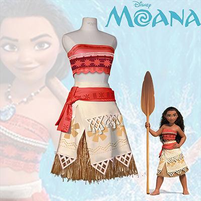 Disney Movie Moana Cosplay Kostumer Fastelavn