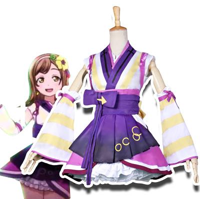 Anime LoveLive! Sunshine!! Hanamaru Kunikida Cosplay Kostumer Fastelavn