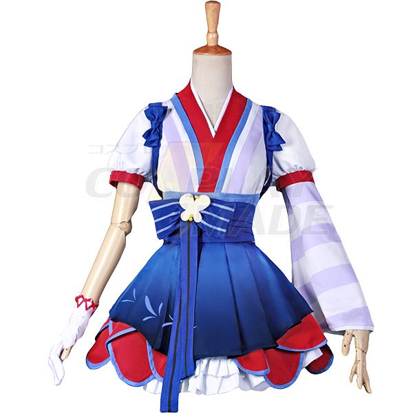 Anime LoveLive! Sunshine!! Yoshiko Tsushima Cosplay Disfraces Carnaval
