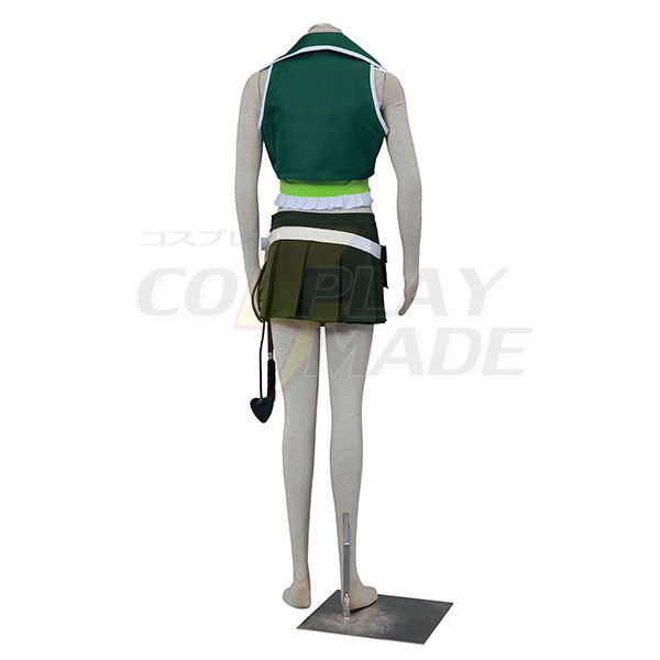 New Style Anime Fairy Tail Lucy III Green Cosplay Costumes