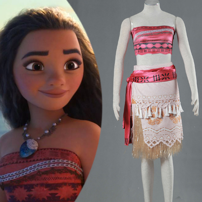 Disney Movie Moana Cosplay Jelmez Upgraded Version Karnevál