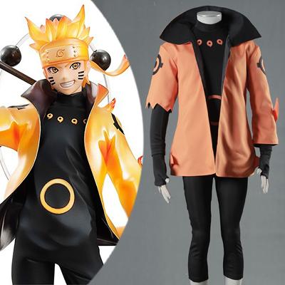 Naruto Naruto Uzumaki Cosplay Kostym Karneval