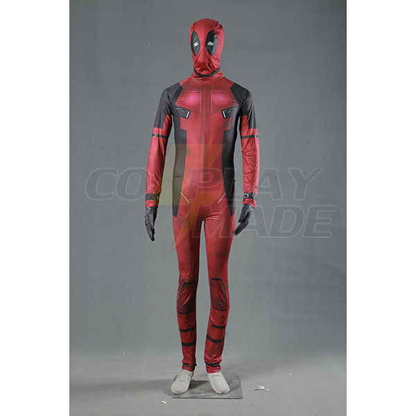 Superhero Movie Deadpool Cosplay Zentai Suits Fastelavn