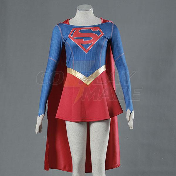 Supergirl Costume Superwoman Kara Danvers Cosplay Outfit