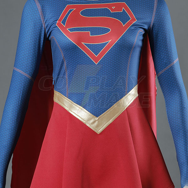 Supergirl asut Superwoman Kara Danvers Cosplay Asuja Naamiaisasut
