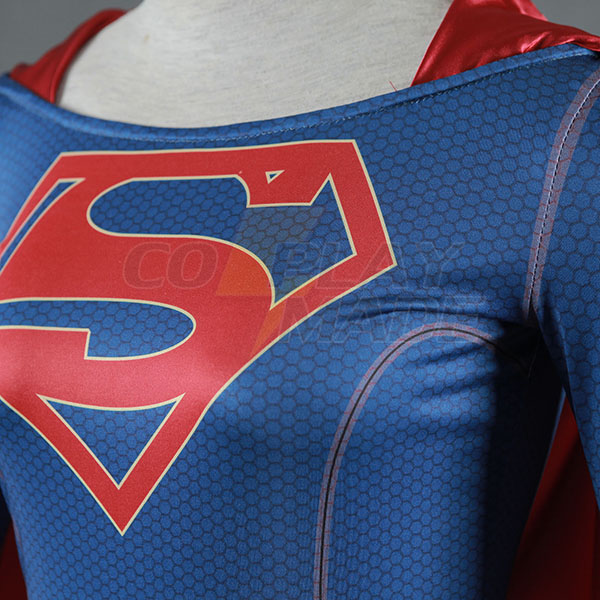 Supergirl Jelmez Superwoman Kara Danvers Cosplay Ruhák Karnevál