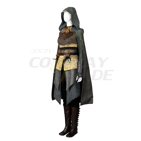 Assassin\'s Creed Dr.Sophia Rikki Cosplay Kostume Hele sæt Fastelavn