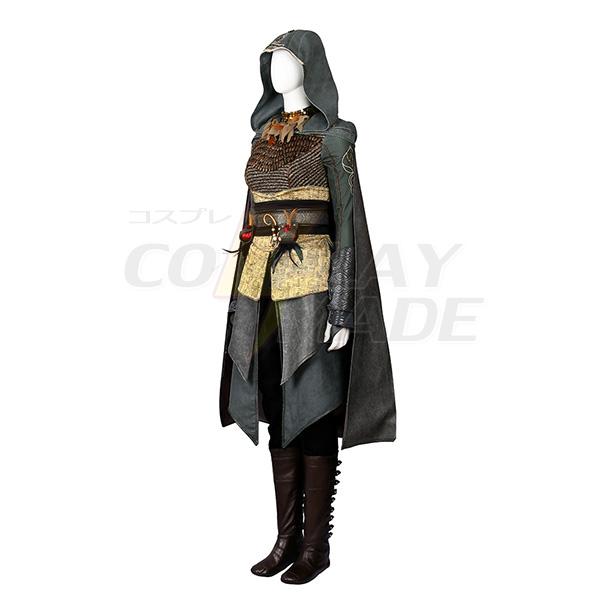 Elokuva Assassin\'s Creed Dr.Sophia Rikki Cosplay asut (Ei Kenkiä) Naamiaisasut