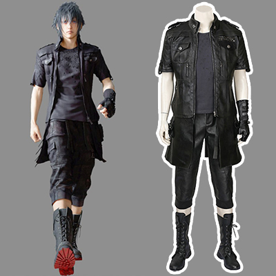 Final Fantasy Xv Noctis Lucis Caelum Cosplay Costume (No shoes)