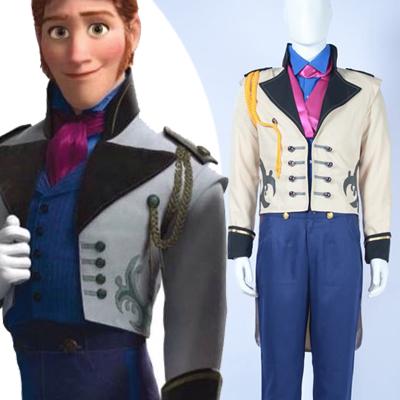 Frozen Hans Cosplay Hallween Kostymer Karneval