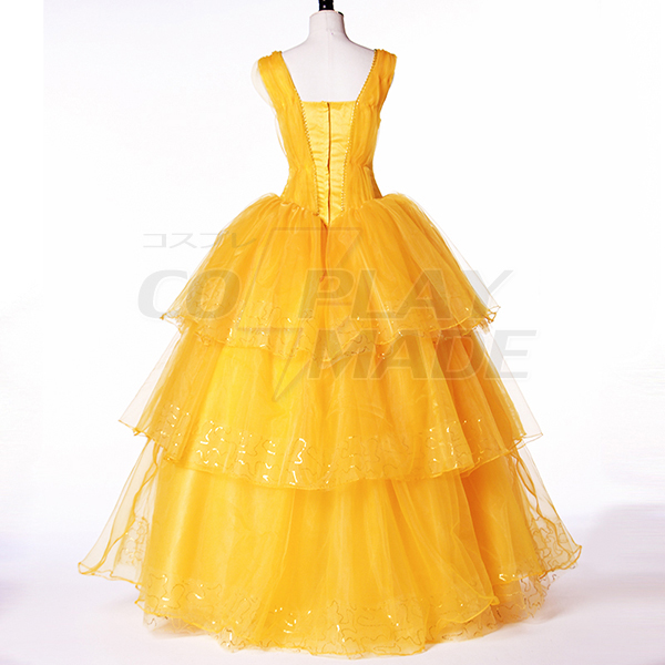 Beauty and the Beast Belle Princess Cosplay Jelmez Karnevál