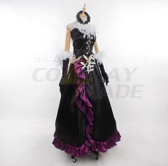 Accel World Kuroyuki hime Kostume Cosplay For Halloween Party Fastelavn