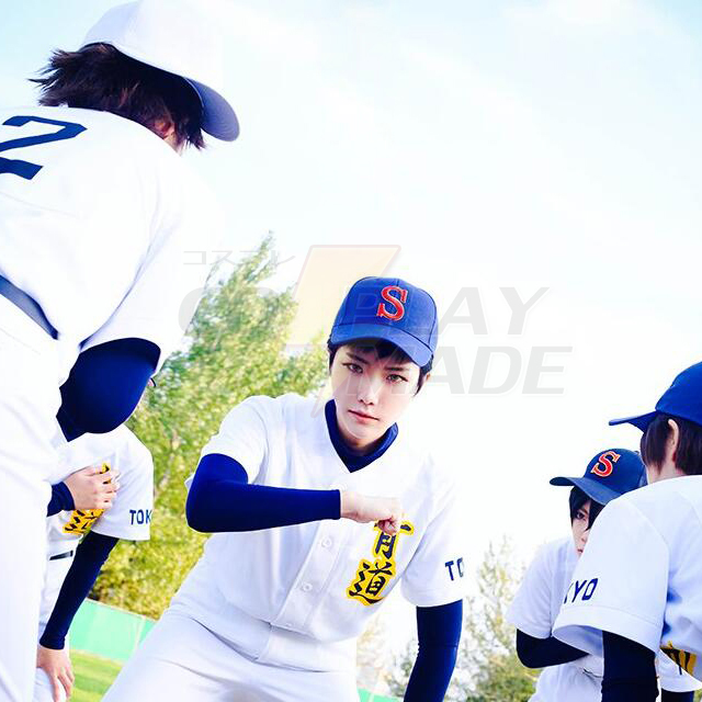 ACE of Diamond Ryosuke Kominato Kazuya Miyuki anime cosplay baseball