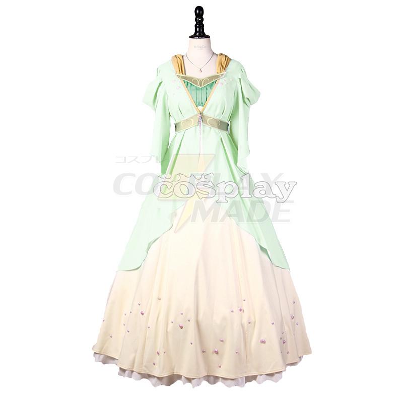 Akagami No Shirayukihime Shirayuki Dress Cosplay Kostume Fastelavn