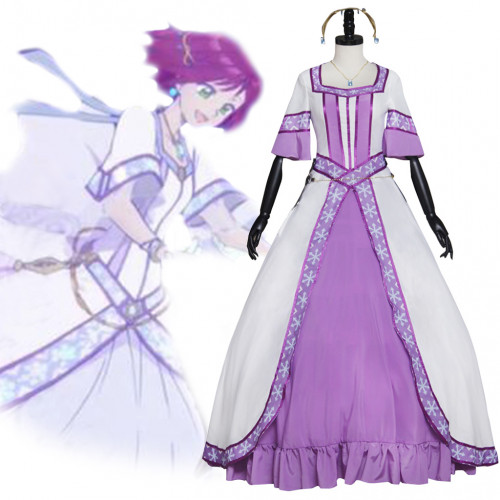 Akagami No Shirayuki-hime Cosplay Kostyme Girls Fancy Kostyme Karneval