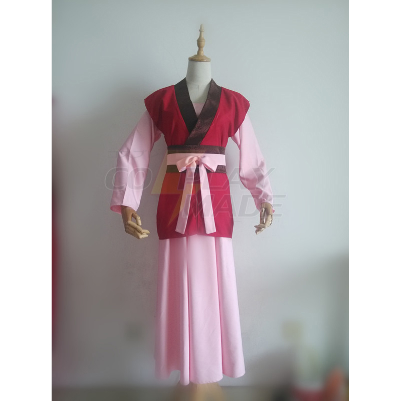 Akatsuki no Yona Princess Dress Cosplay Costume
