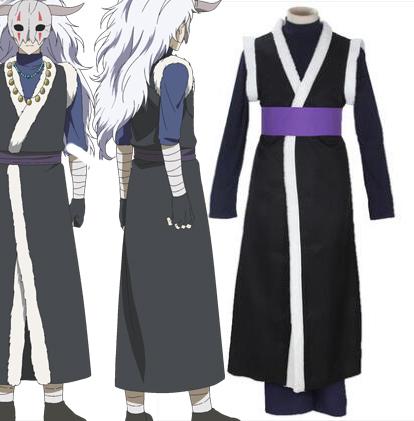 Akatsuki no Yona Shin Ah Asuja Halloween Cosplay asut Naamiaisasut