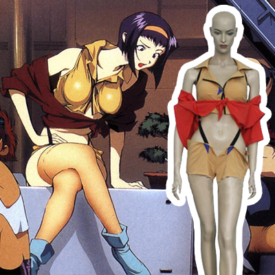 Hot Seller Cowboy Bebop Faye Valentine Cosplay Costume