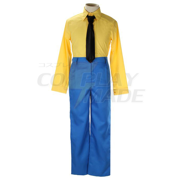 Cowboy Bebop Spike Spiegel Cosplay Kostume Fastelavn