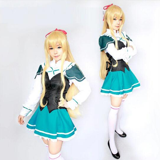 Absolute Duo Lilith Bristol Cosplay Costume Carnaval