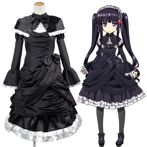 Absolute Duo Sakuya Tsukumo Cosplay Costume Carnaval