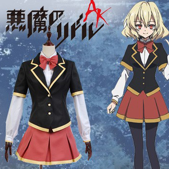 Riddle Story of Devil Nio Hashiri Cosplay Costumes School Uniform