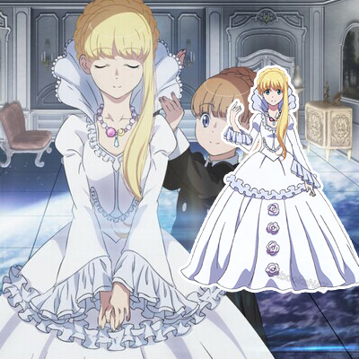 Aldnoah Zero Asseylum Vers Allusia Cosplay Party Costumes
