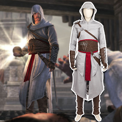 Assassin's Creed Revelation Altair Cosplay Kostym Karneval