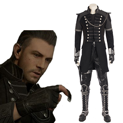 Kingsglaive Fantasy XV Cosplay Halloween Costume Ensemble Entier Carnaval