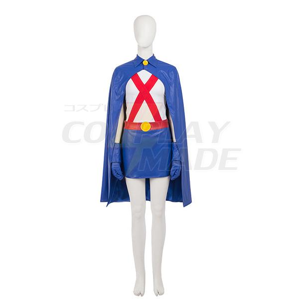 Young Justice Miss Martian Cosplay asut(Ei Kenkiä) Naamiaisasut