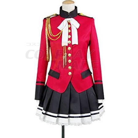 Amagi Brilliant Park Isuzu Sento Cosplay Kostumer Uniform Fastelavn