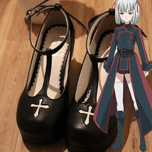 Ange Vierge Cosplay Kostüme Hallween Shoes