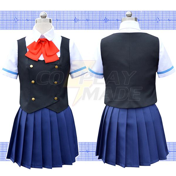 Another Misaki Mei Cosplay Kostume Uniform Fastelavn