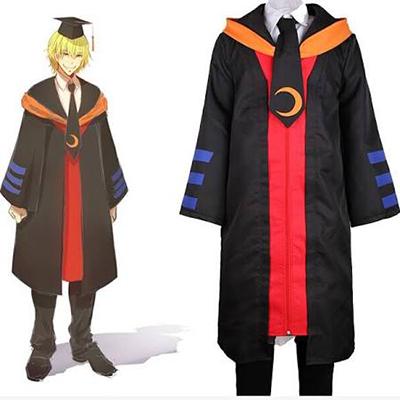 Assassination Classroom Ansatsu Kyoshitsu Korosensei Adult Cosplay Kostume Fastelavn