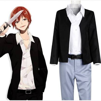 Assassination Classroom Akabane Karma Cosplay Kostym Karneval