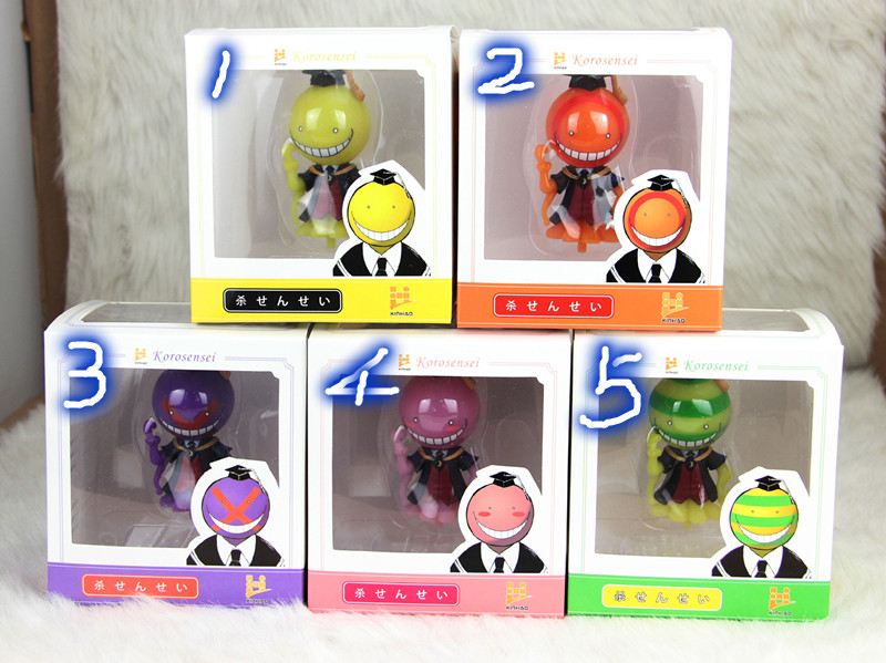 Assassination Classroom Action Figures Pvc Statue Toy Gift Collectible(One) Naamiaisasut