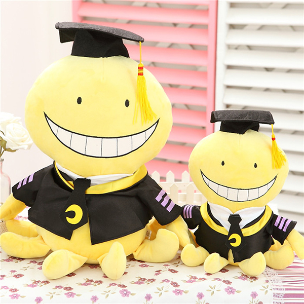 Hot Anime Assassination Classroom Korosensei Plush Doll