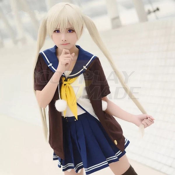 Aokana: Four Rhythm Across the Blue Mashiro Arisaka Cosplay Jelmez Karnevál