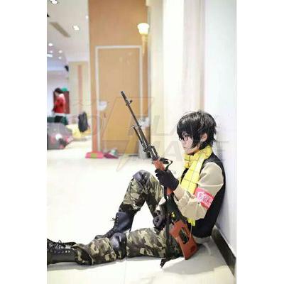 Aoharu x Machinegun Toru Yukimura Egyenruha Cosplay Jelmez Karnevál